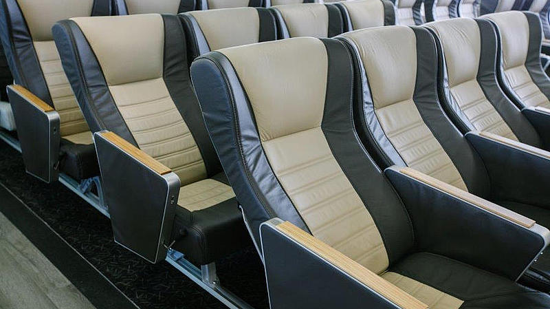 seats from the right panorama class